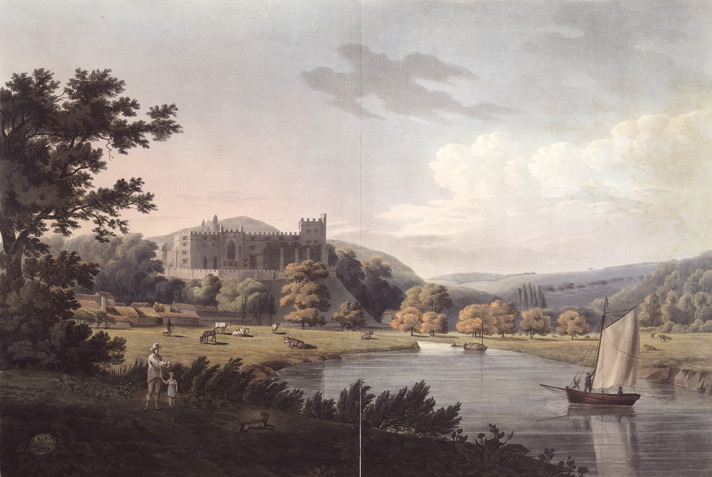 A south-west view of Arundel Castle, Sussex